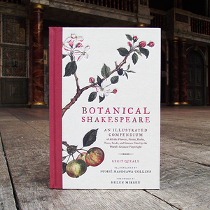 Hardback edition of Botanical Shakespeare by Sumie Hasegawa-Collins