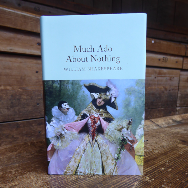 Pocket sized hardback Collector's Library edition of Shakespeare play, Much Ado About Nothing