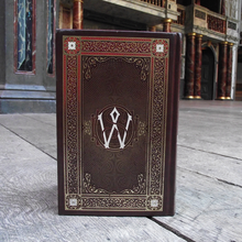 Leatherbound hardback version of William Shakespeare's Complete Works