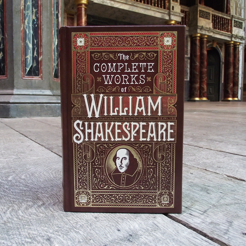 The Complete Works of Shakespeare - Leatherbound