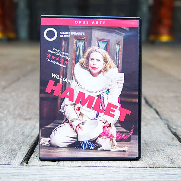 Shakespeare's Globe staged performance of Hamlet on DVD