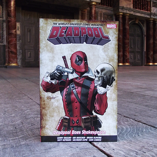 Deadpool Does Shakespeare graphic novel