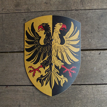 Double Eagle Wooden Shield