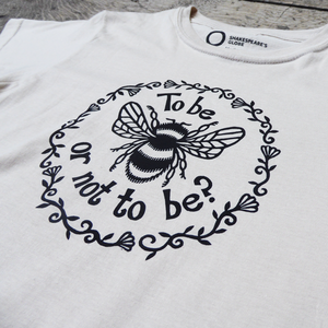 'To Bee' Fitted T-Shirt