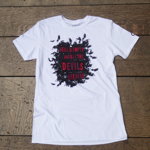 The Tempest 'Hell is Empty' Unisex T-Shirt