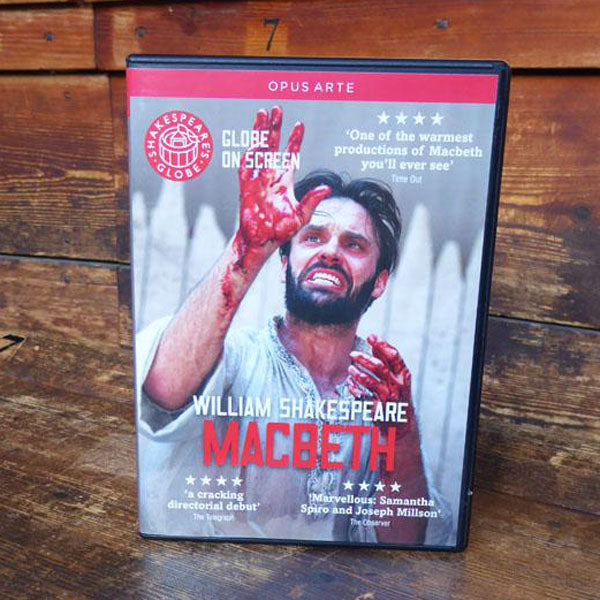 DVD of Shakespeare's Globe 2013 production of Macbeth