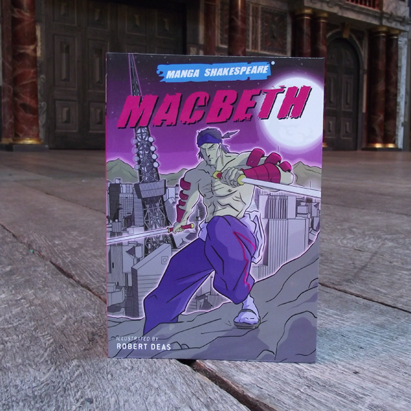 Manga Shakespeare: Macbeth. Graphic novel of famous Shakespeare Play.