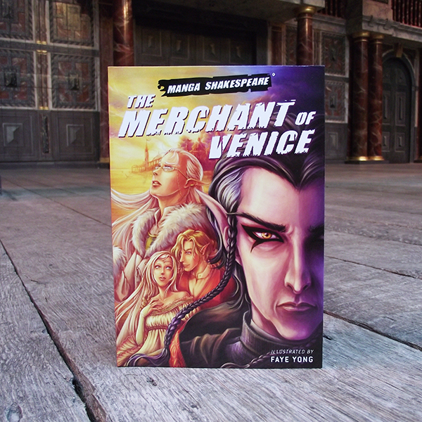 Manga Shakespeare: The Merchant Of Venice. Graphic novel of famous Shakespeare Play.