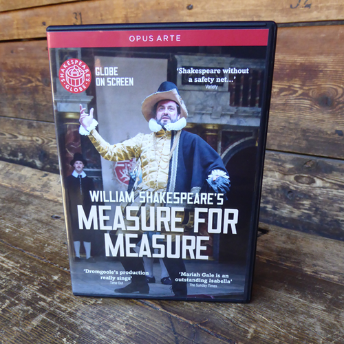 Measure For Measure DVD (2015)