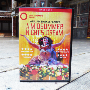 DVD of Shakespeare's Globe 2016 production of A Midsummer night's Dream