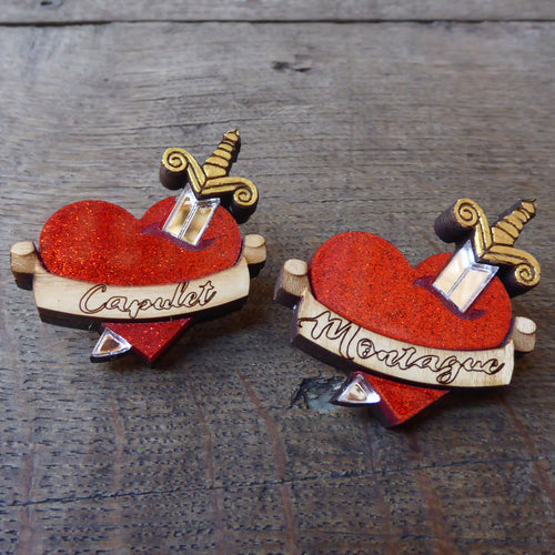 Love Never Dies Brooch
