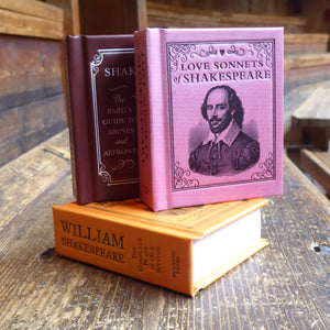 Shakespeare miniature books