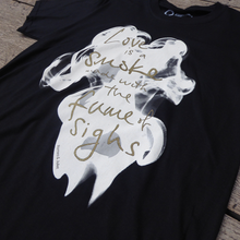 Romeo and Juliet 'Love is a Smoke' Unisex T-Shirt