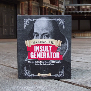 Shakespeare Insult Generator, novelty book