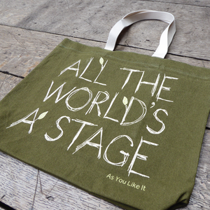 As You Like It 'All the World's a Stage' Tote