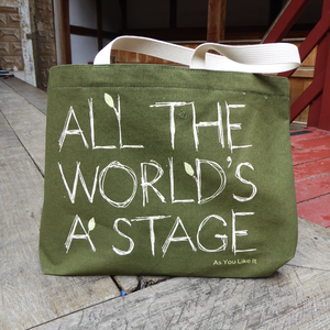 All the World's a Stage Tote