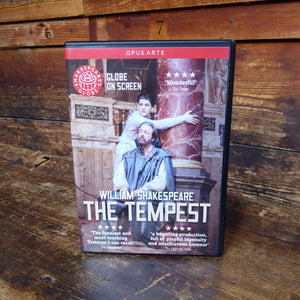 DVD of Shakespeare's Globe 2013 production of The Tempest. Performed and recorded in Shakespeare's Globe.