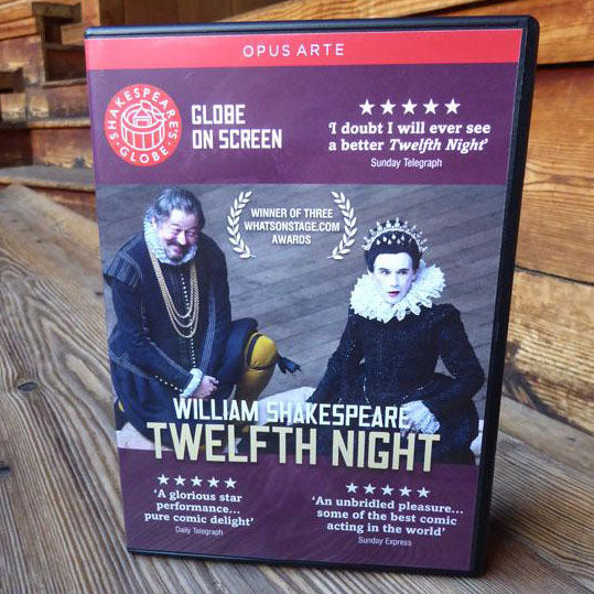 DVD of Shakespeare's Globe 2012 production of Twelfth Night