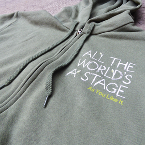 As You Like It 'All The World's a Stage' Unisex Hoodie