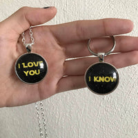 Star Wars Couple || I Love You || I Know Necklaces/Keychains