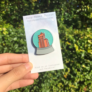 Hollywood Studios Snow Globe Pin