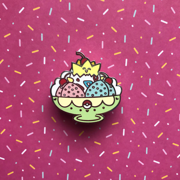 Togepi Ice Cream Pin