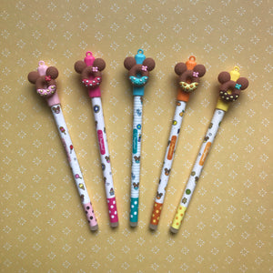 Mouse Head Donut Gel Pen