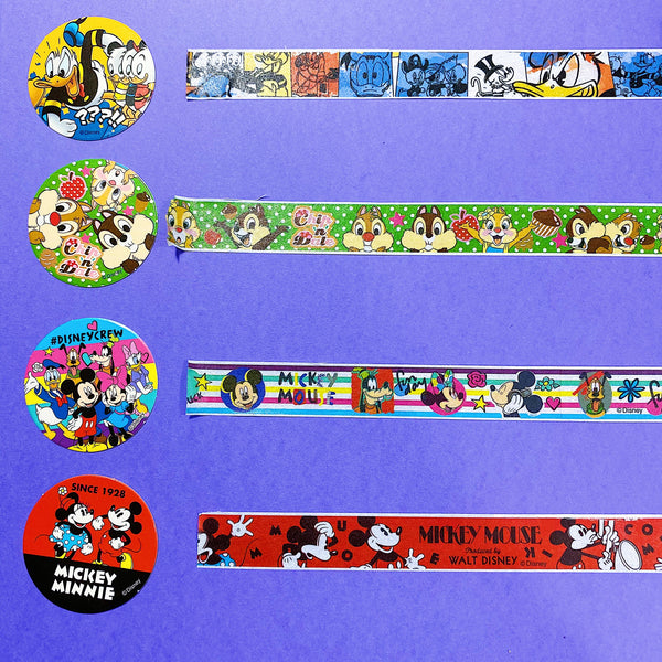 Mickey and Friends Washi Tape