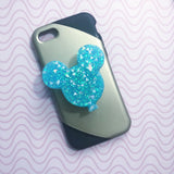 Icy Blue Balloon Phone Grip