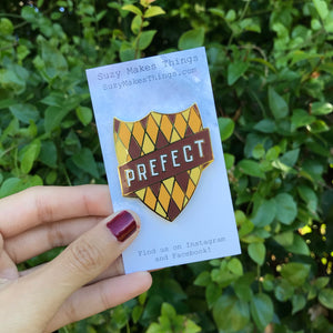Hufflepuff Prefect Pin