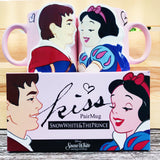 Snow White and The Prince Couples Mugs