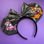 Spiderweb Nightmare Before Christmas Mouse Ears