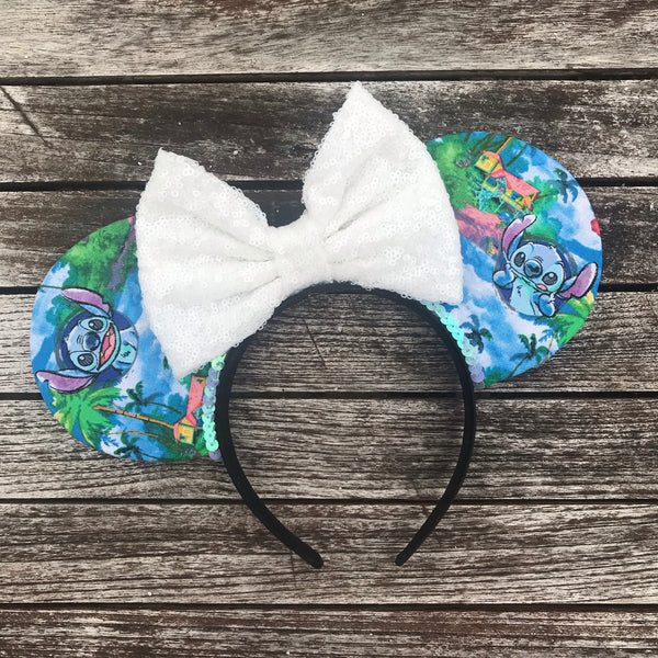 Stitch Hawaii Mouse Ears