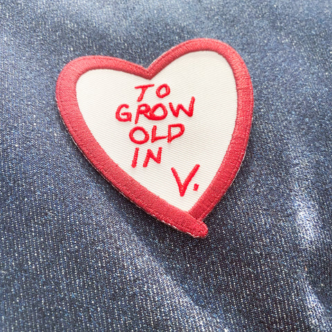 To Grow Old In V. || Wandavision Patch