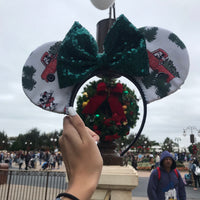 Mickey Home for the Holidays Ears