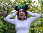 Black All Over Sequin Mouse Ears (MINT)