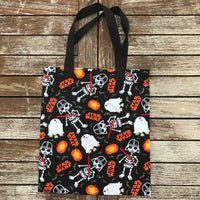 Star Wars Darth Vader R2D2 Trick or Treat Bag