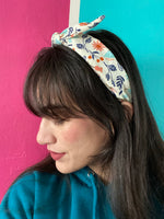 Alice Floral Bow Knot Headband