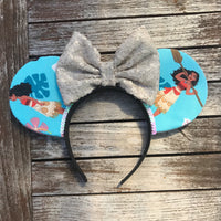 Moana Mouse Ears