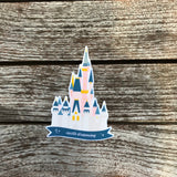 Castle Dreaming Sticker