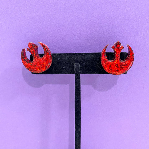 Rebel Symbol // Star Wars Stud Earrings