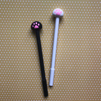 Cat Paw Toe Bean Gel Pen