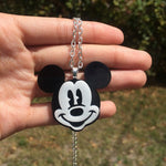 Retro Mouse Necklace