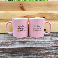 Belle and the Beast Couples Mugs