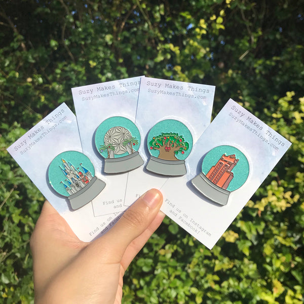 Full Set of Snow Globe Pins