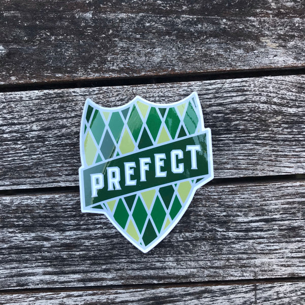 Slytherin Prefect Sticker