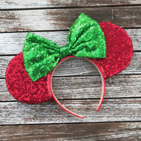 Christmas Sequin Mouse Ears