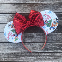 Christmas Here We Come Mouse Ears