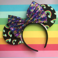 Rainbow Mouse Ears