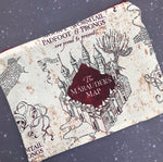 Marauders Map Small Makeup Bag